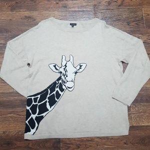 Talbots Giraffe Sweater